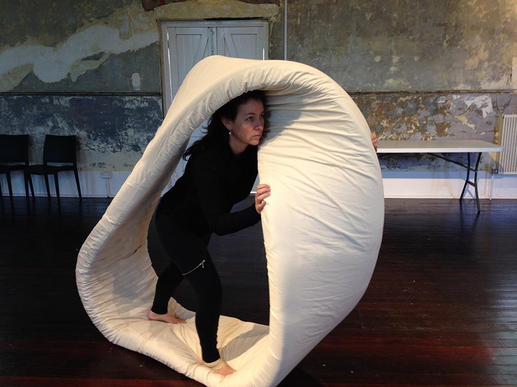 Figure 12 Body-sized Möbius loop model